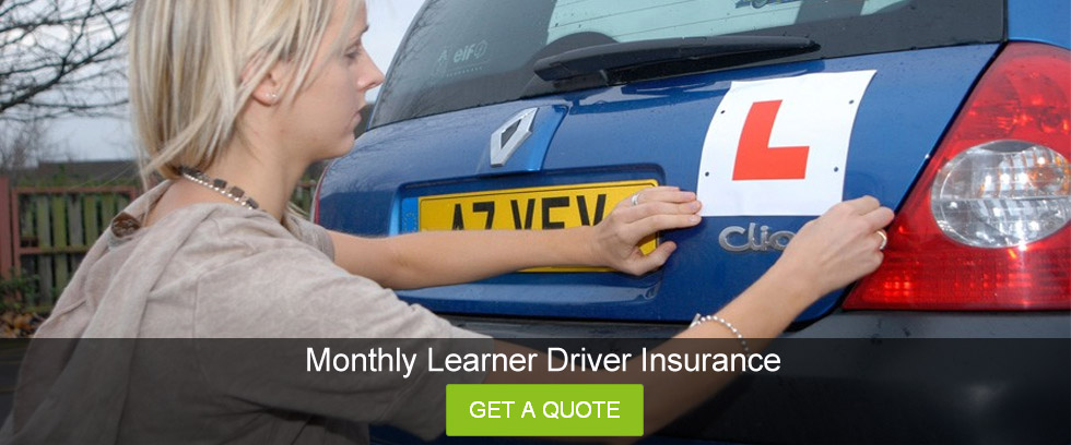 Monthly Car Insurance For Learner Drivers Uk