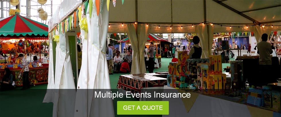 Wedding Insurance Quote: Multiple Events Insurance UK